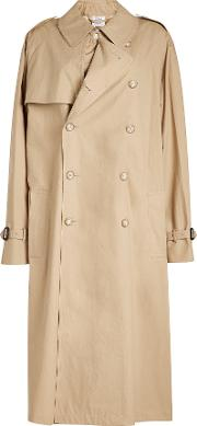 X Mackintosh Oversized Trench Coat