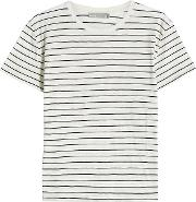 Striped Cotton T Shirt