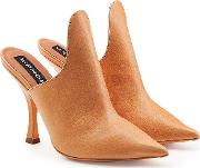 Yproject Leather Mules