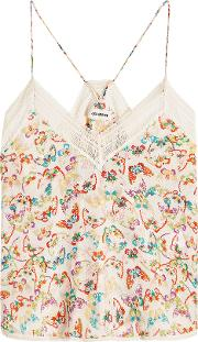 Christy Butterfly Printed Camisole