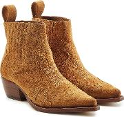 Erin Suede Ankle Boots
