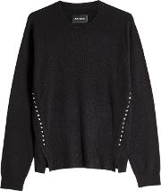Genna Embellished Pullover In Wool And Cashmere