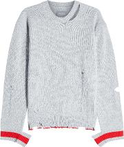 Jack Distressed Cashmere Pullover