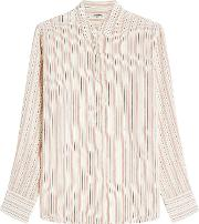 Zadig & Voltaire Printed Silk Blouse