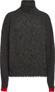 Zoe Turtleneck Pullover With Wool And Yak
