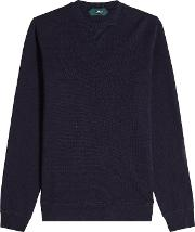 Waffle Cotton Pullover