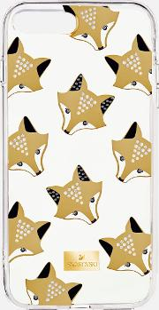 March Fox Smartphone Case With Integrated Bumper, Iphone 8 Plus, Multi Coloured