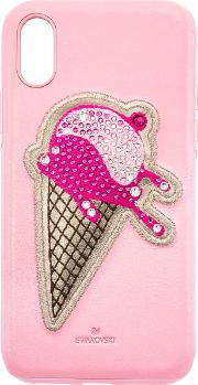 No Regrets Ice Cream Smartphone Case With Integrated Bumper, Iphonea Xr, Pink