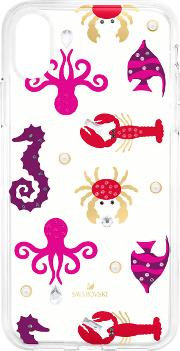 Sea Life Smartphone Case With Integrated Bumper, Iphonea Xxs, Transparent