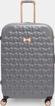 Bow Detail Large Suitcase