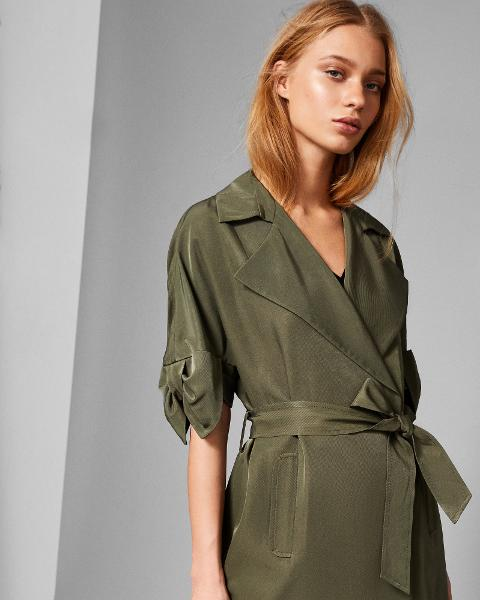 df1fc8d74 Bow Detail Trench Coat. Follow ted baker