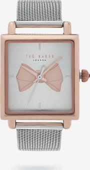 Bow Square Dial Watch