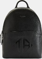 Embossed Rectangle Backpack