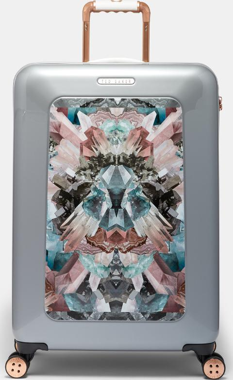 Mirrored Minerals Medium Suitcase