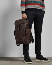Palmellato Leather Backpack