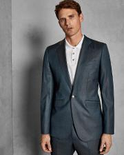 Pashion Slim Wool Suit Jacket
