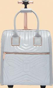 Reflective Quilted Bow Travel Bag