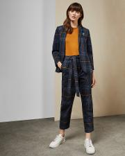 Robot Check Trousers