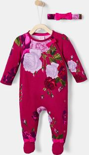 Rose 3 Piece Cotton Sleep Set