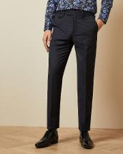 Sterling Wool Checked Trousers