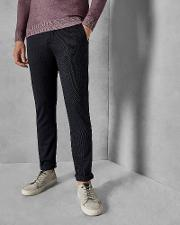 Tall Slim Fit Textured Trousers