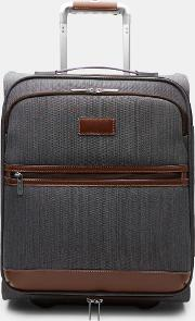 Ted Baker Two Tone Small Suitcase Grey