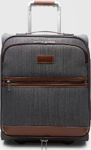 Two-tone Small Suitcase Grey