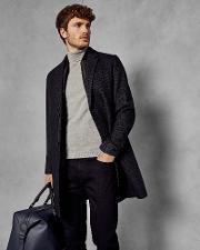 Wool Overcoat With Removable Inner