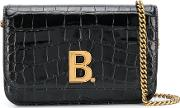 B Leather Wallet On Chain