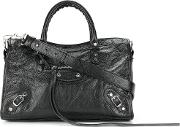 City Classic Small Leather Shoulder Bag
