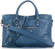City Small Leather Shoulder Bag