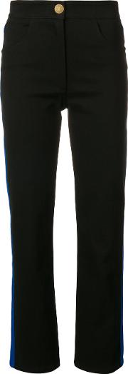 Cotton Trousers With Lateral Bands