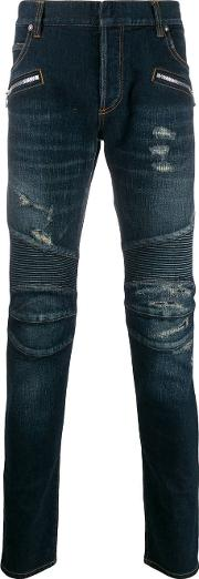 Slim Fit Jeans With Ripped