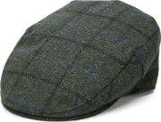 Hat With Check Motif