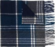 Scarf With Check Motif