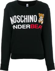 Moschino And Bear Embroidery Sweatshirt