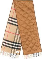 Cashmere Giant Check Scarf