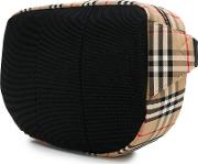 Pouch With Motif Check