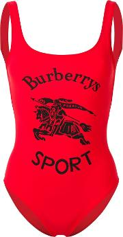 Swimsuit With Logo