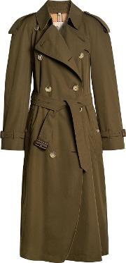 Westminster Long Cotton Trench