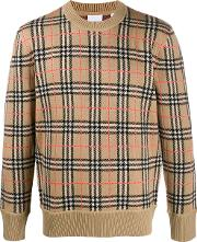 Wool Checked Jumper