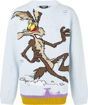 Willy The Coyote Wool Sweater