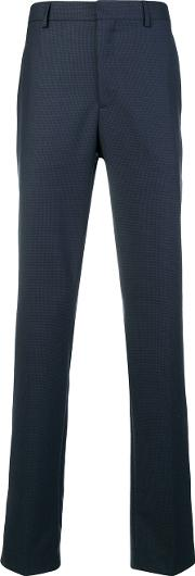 Wool Trousers With Side Band