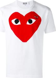 T Shirt With Red Heart