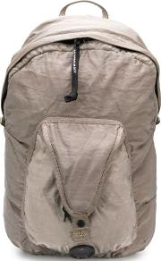 Backpack With Zip And Pockets