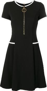 Fit And Flare Zipped Dress