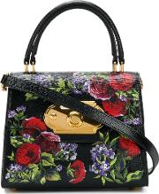 Welcome Mini Bag With Flowers Print