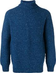 Knit Roll Neck Sweater