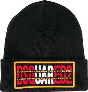 Wool Hat With Patch And Logo