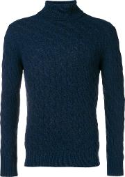 Highneck Sweater In Cachemire